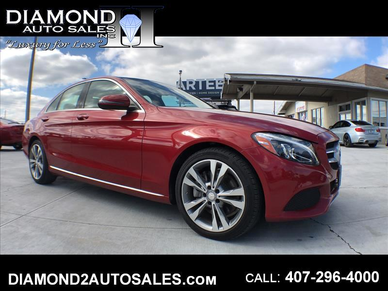 2016 Mercedes-Benz C-Class C300 Sport Sedan