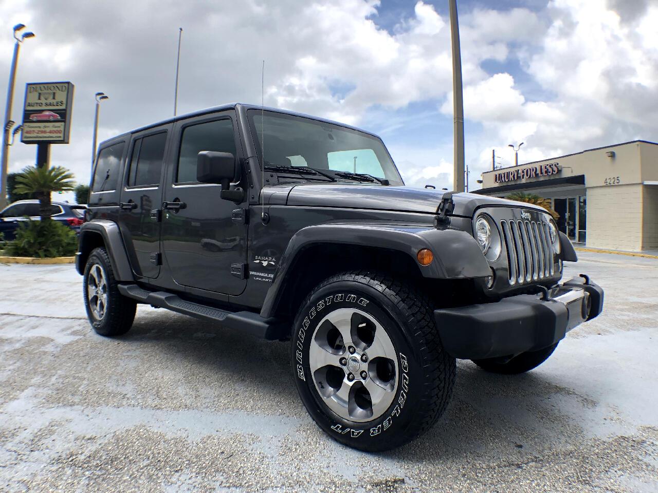 Jeep Wrangler JK Unlimited Sahara 4x4 2018
