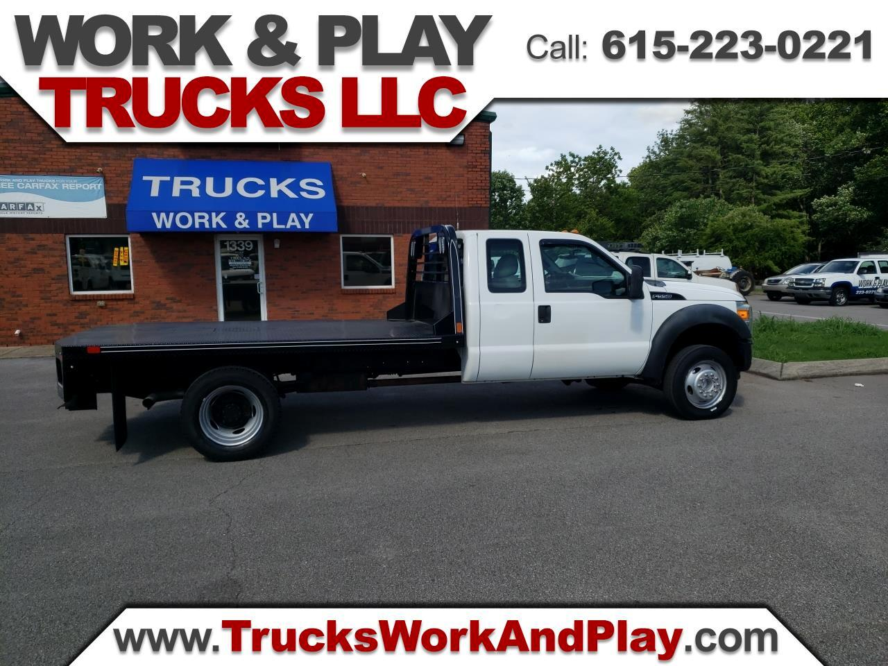 Ford F-550 SuperCab DRW 2WD 2011