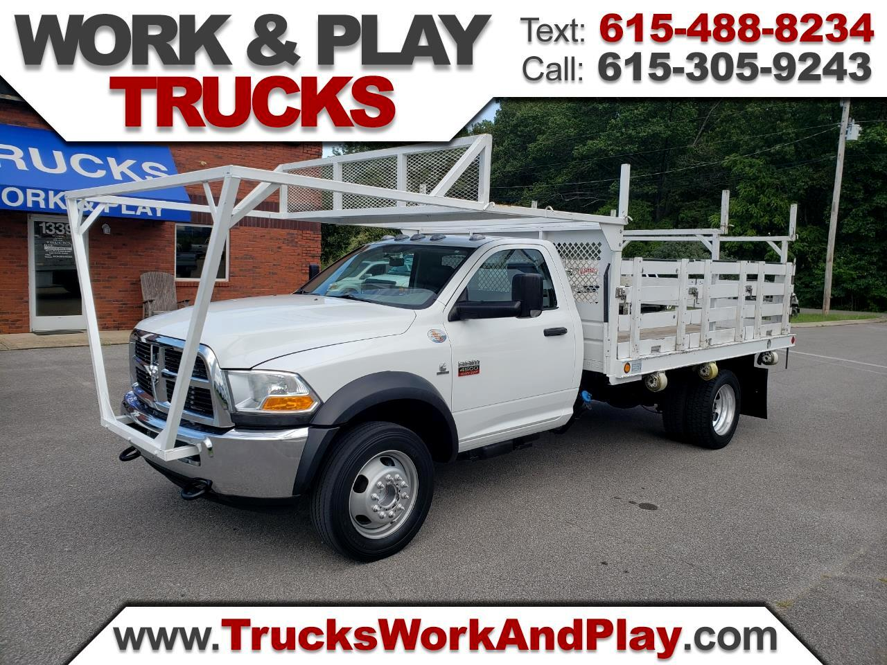 2012 Dodge Ram 4500 Regular Cab 2WD