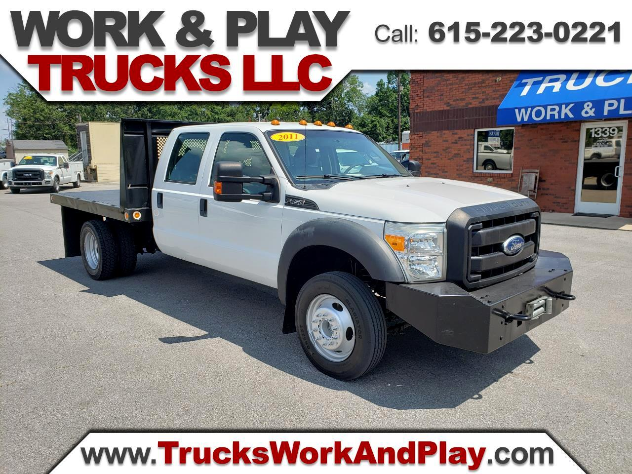 Ford F-450 SD Crew Cab DRW 2WD 2011