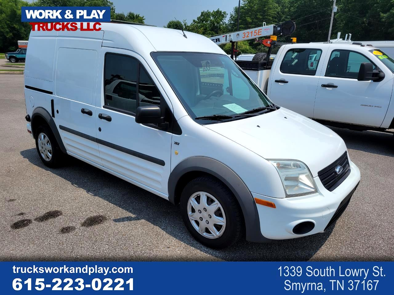 """Ford Transit Connect 114.6"""" XLT w/rear door privacy glass 2012"""
