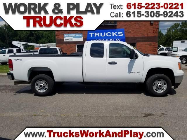 2012 GMC Sierra 2500HD Work Truck Ext. Cab 4WD