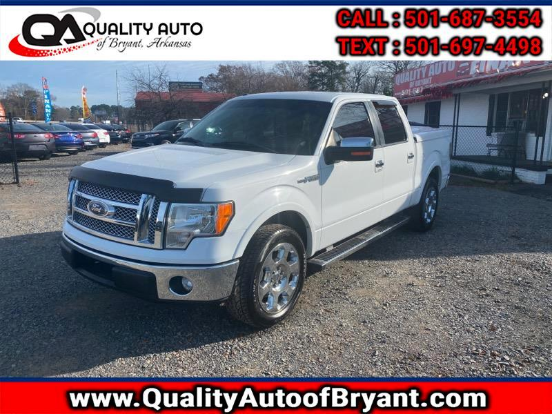 2012 Ford F-150 Lariat 2WD SuperCrew 6.5' Box