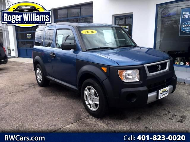 2006 Honda Element 2WD EX Manual