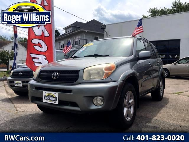 2004 Toyota RAV4 4WD 4dr 4-cyl 4-Spd AT Ltd (Natl)