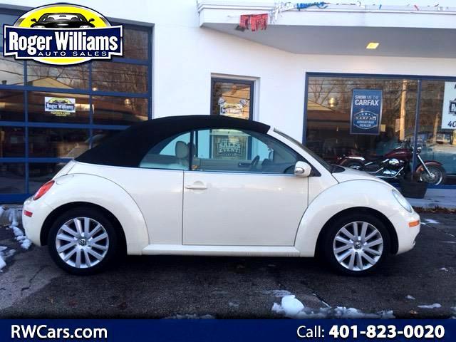 2008 Volkswagen New Beetle S Convertible