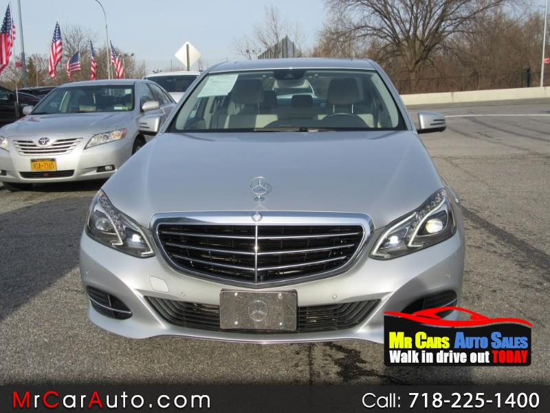 2014 Mercedes-Benz E-Class E350 4MATIC Sedan