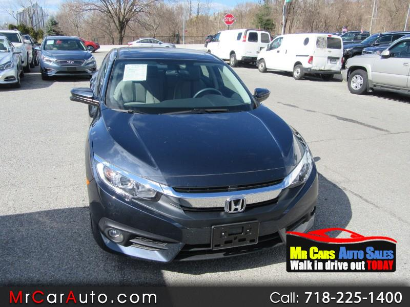 2018 Honda Civic EX-T Sedan CVT