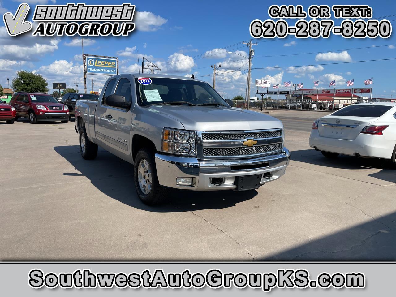 Chevrolet Silverado 1500 LT Ext. Cab 2WD 2012