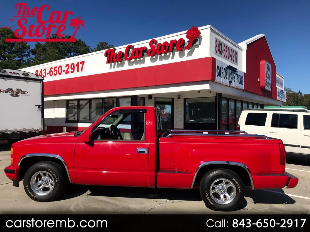 1993 Chevrolet C/K 1500 Reg. Cab W/T 8-ft. bed 2WD