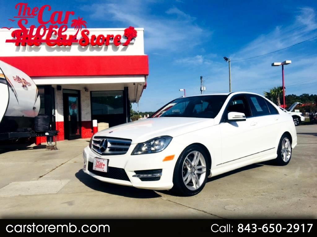 2013 Mercedes-Benz C-Class 4dr Sdn C300 Luxury 4MATIC