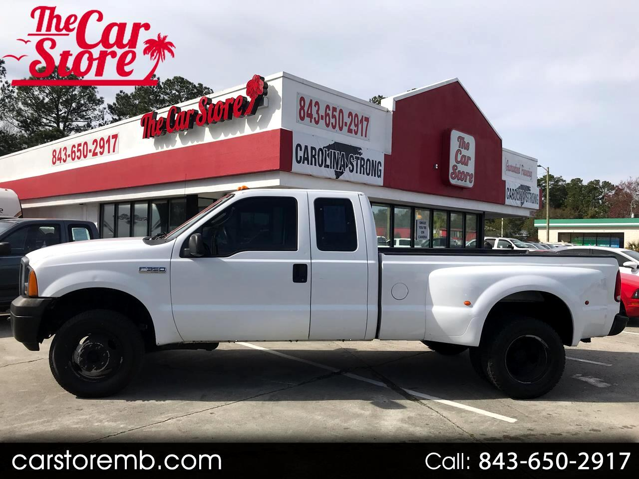 2005 Ford F-350 SD XL SuperCab Long Bed 4WD DRW
