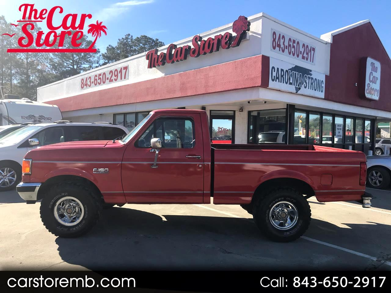 1989 Ford F-150 S Reg. Cab Short Bed 2WD