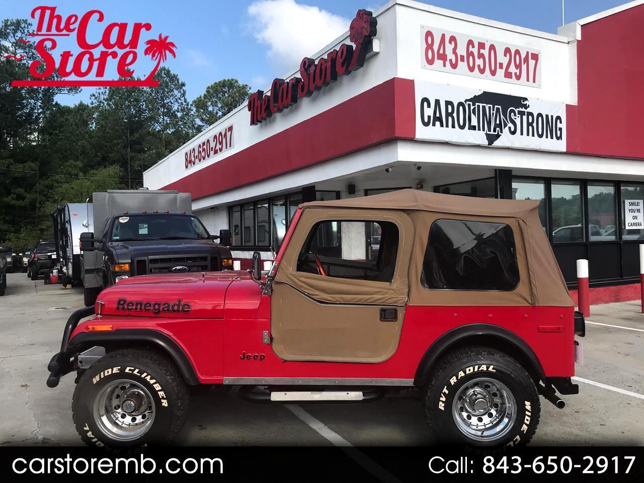 1978 Jeep CJ-7 Renegade