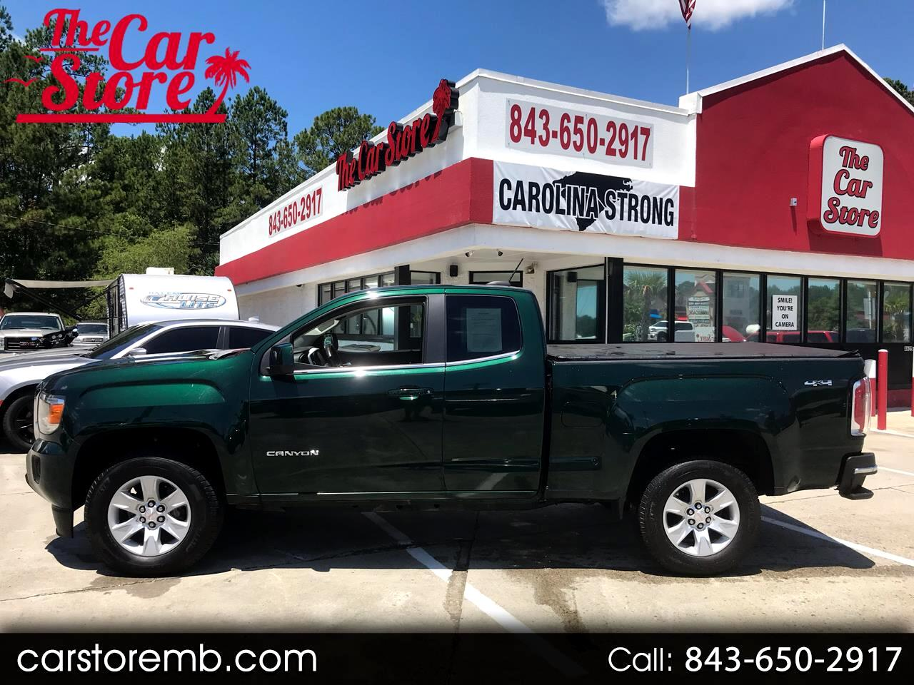 2015 GMC Canyon SLE Ext. Cab 4WD
