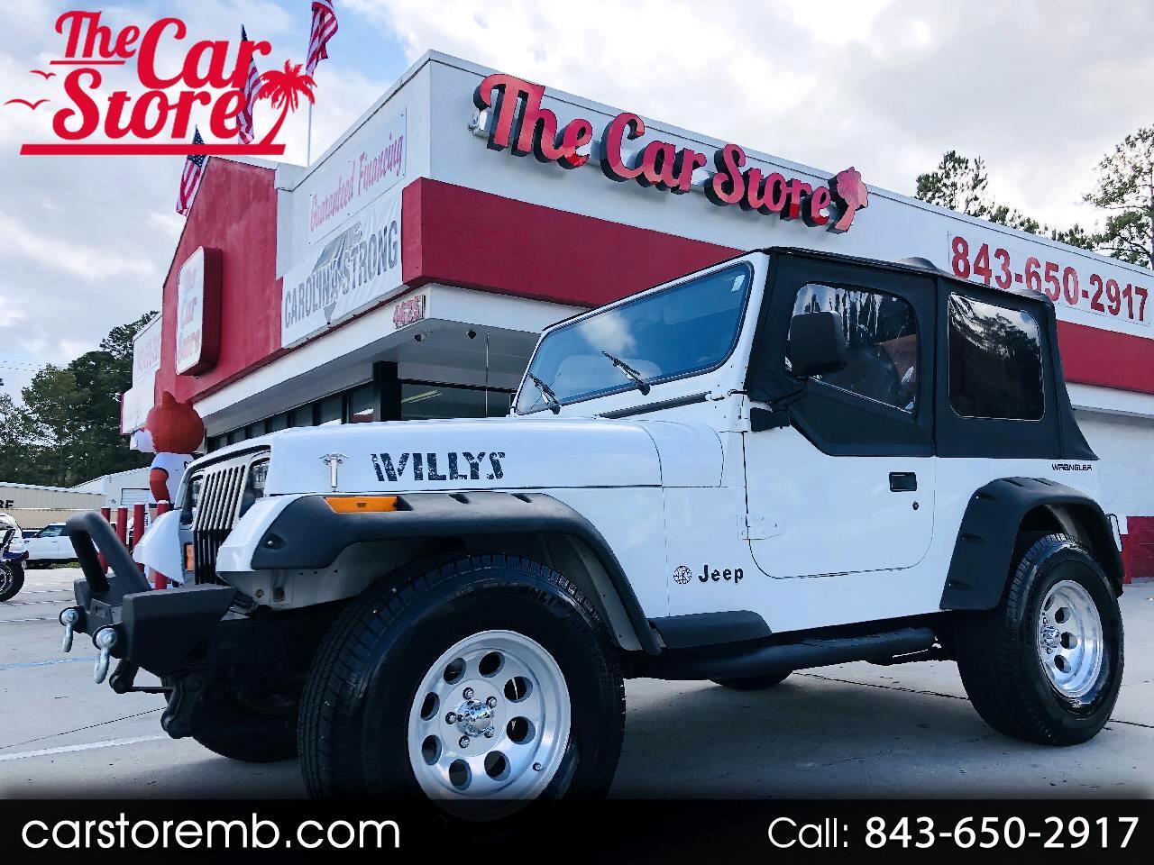 Jeep Wrangler S 1994