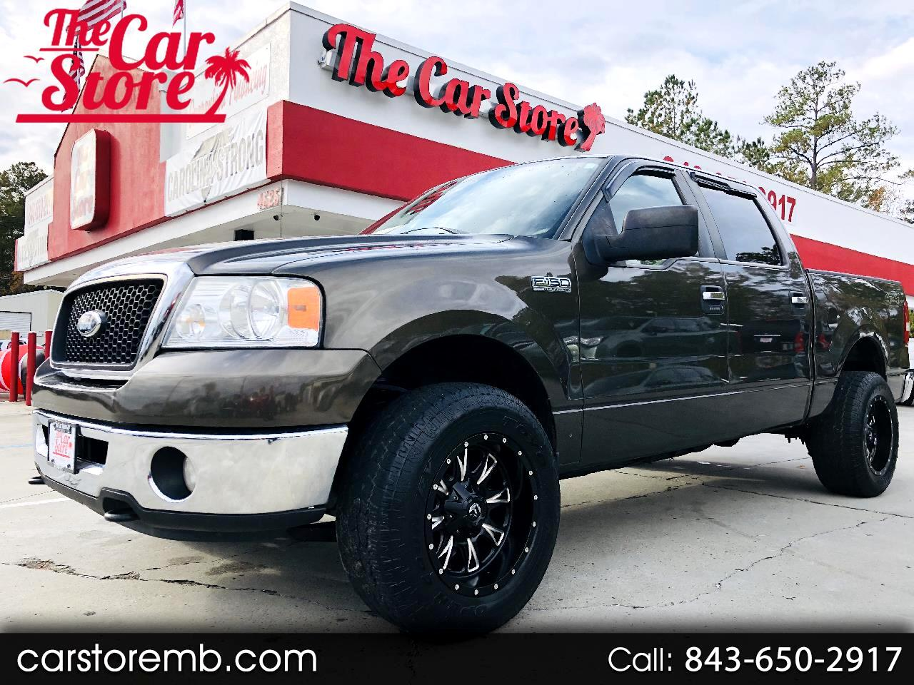 "Ford F-150 4WD SuperCab 163"" XLT 2008"