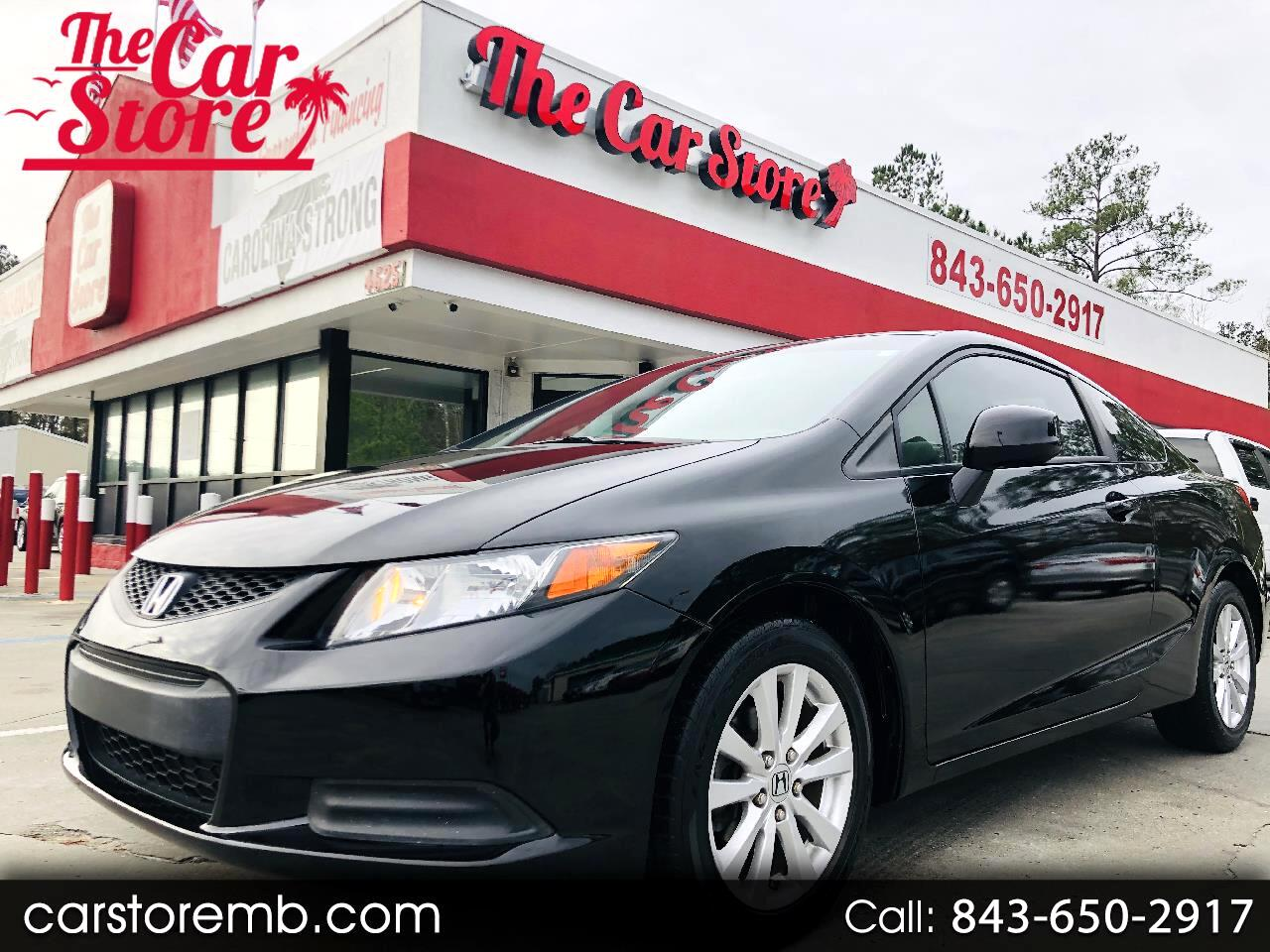 Honda Civic EX Coupe 5-Speed AT 2012