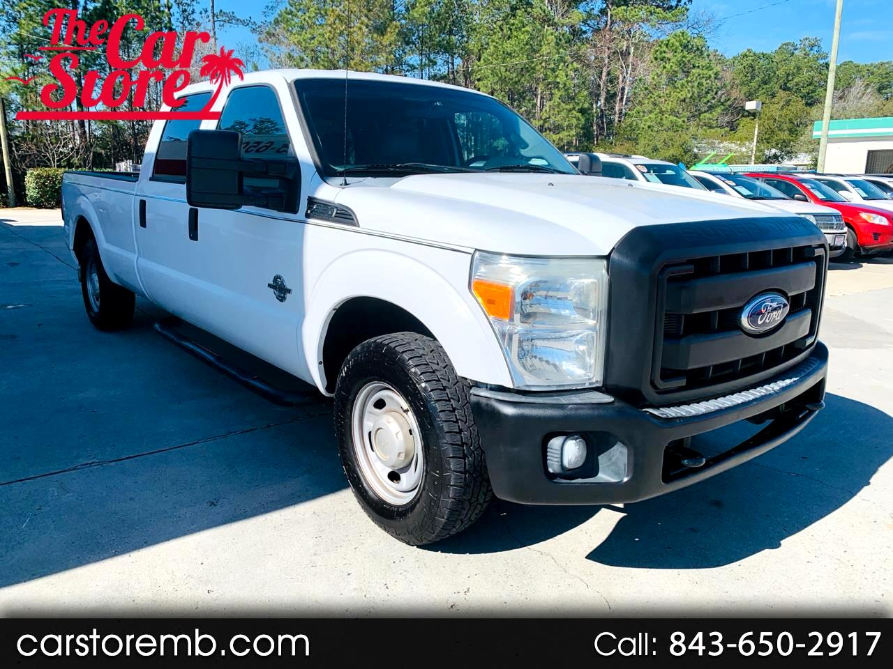 Ford F-350 SD XL Crew Cab Long Bed 2WD 2012