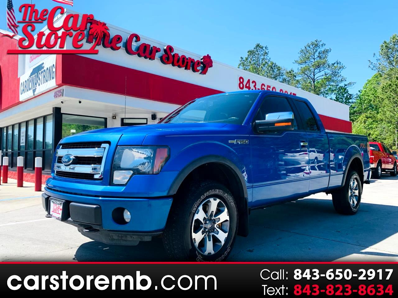 Ford F-150 FX4 SuperCab 4WD 2013