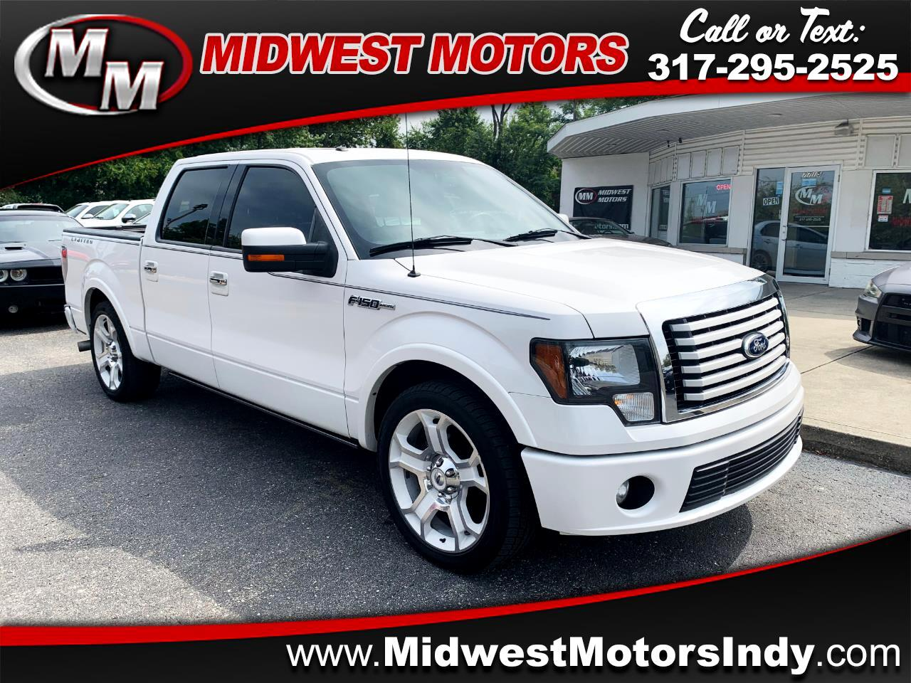 2011 Ford F-150 Limited SuperCrew 6.5-ft Bed 4WD