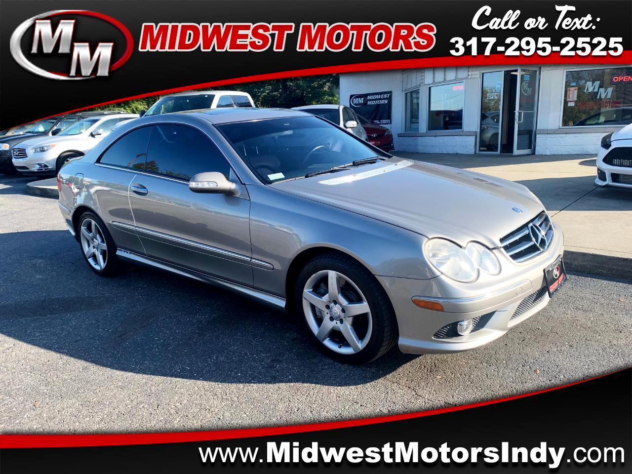 2006 Mercedes-Benz CLK-Class CLK500 Coupe