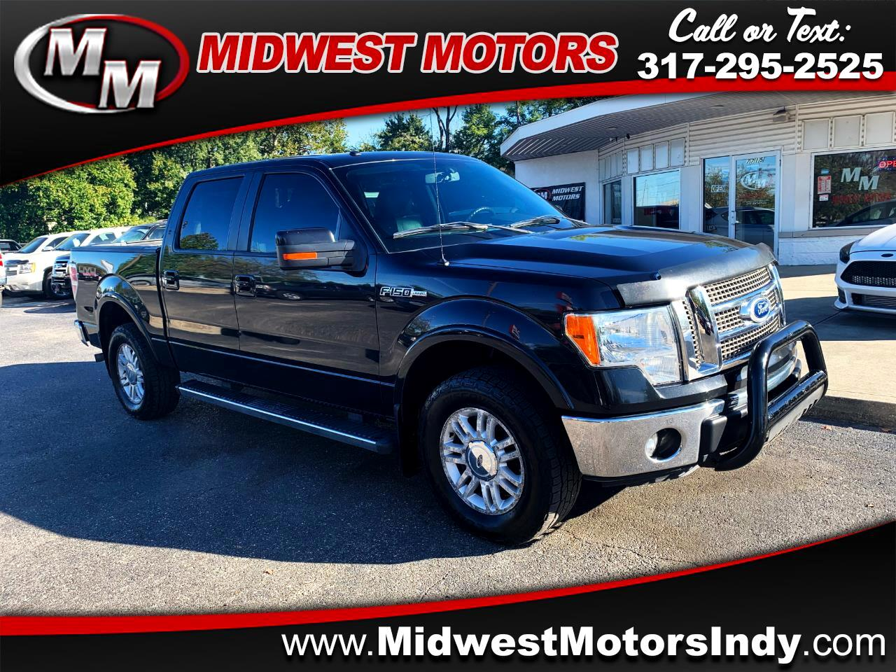 Ford F-150 Lariat SuperCrew 6.5-ft. Bed 4WD 2011