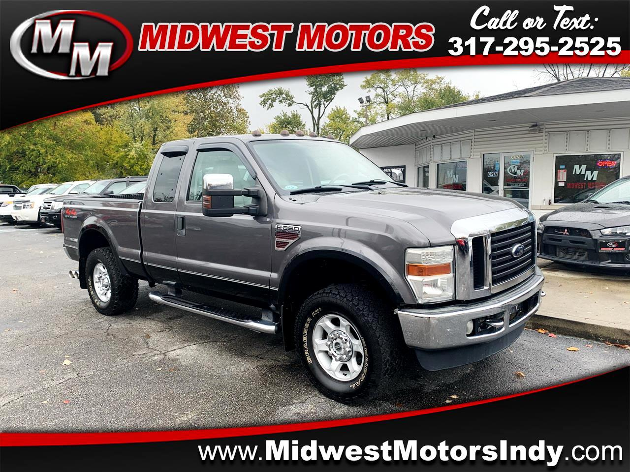 Ford F-250 SD Lariat SuperCab Long Bed 4WD 2008