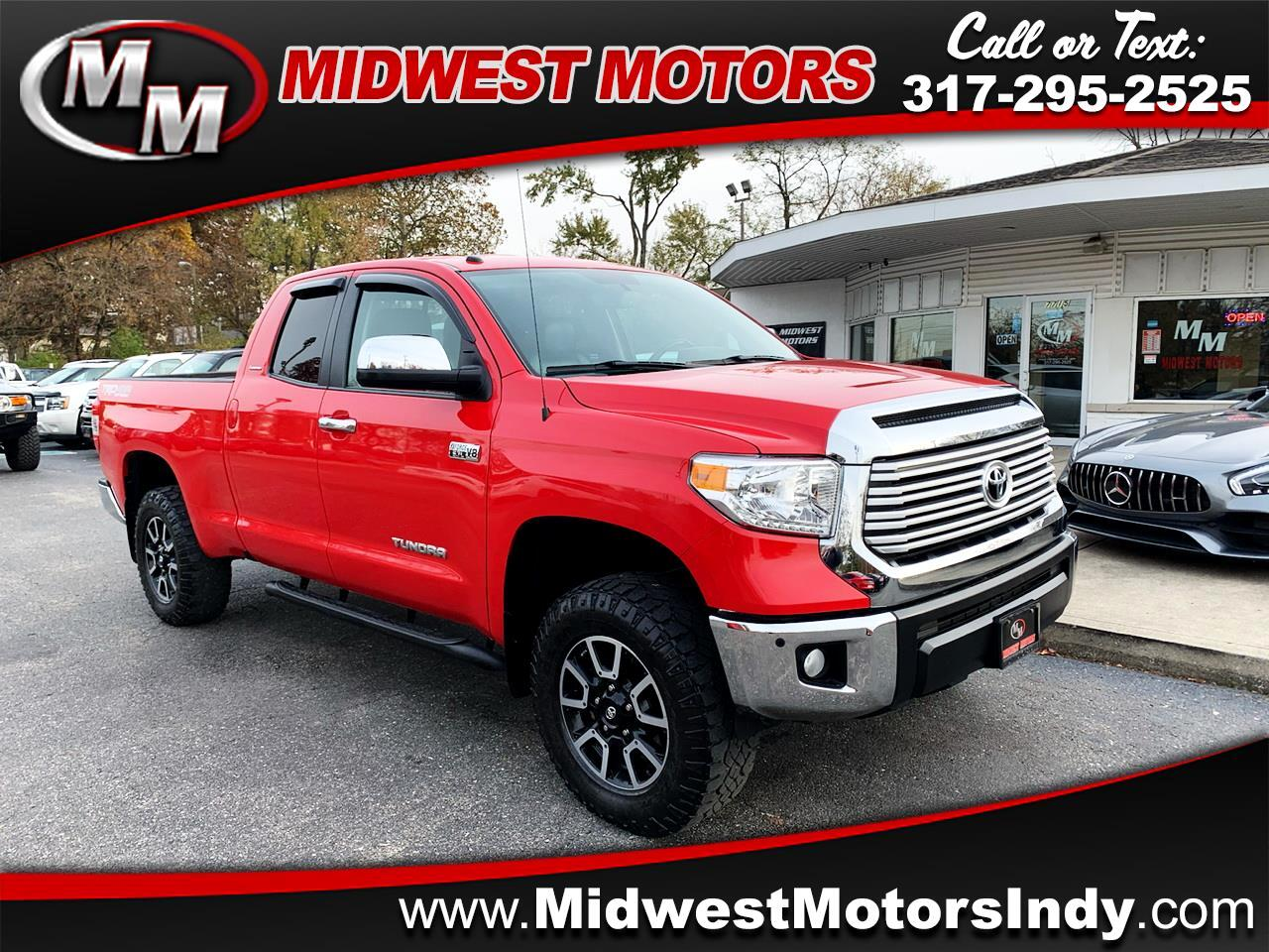 Toyota Tundra Limited 5.7L Double Cab 4WD 2014
