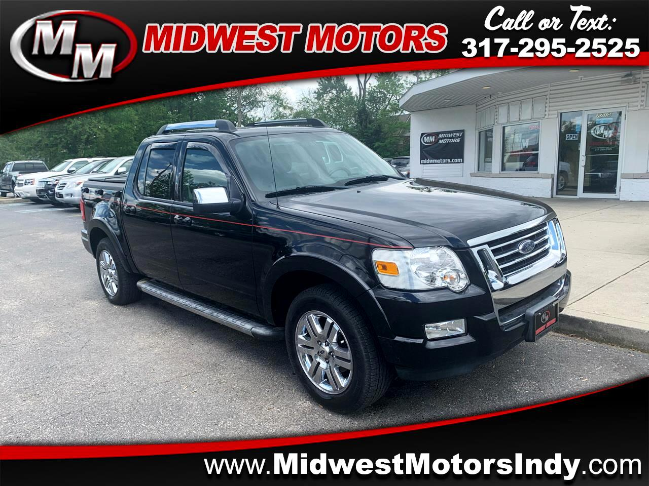 Ford Explorer Sport Trac Limited 4.0L 4WD 2008