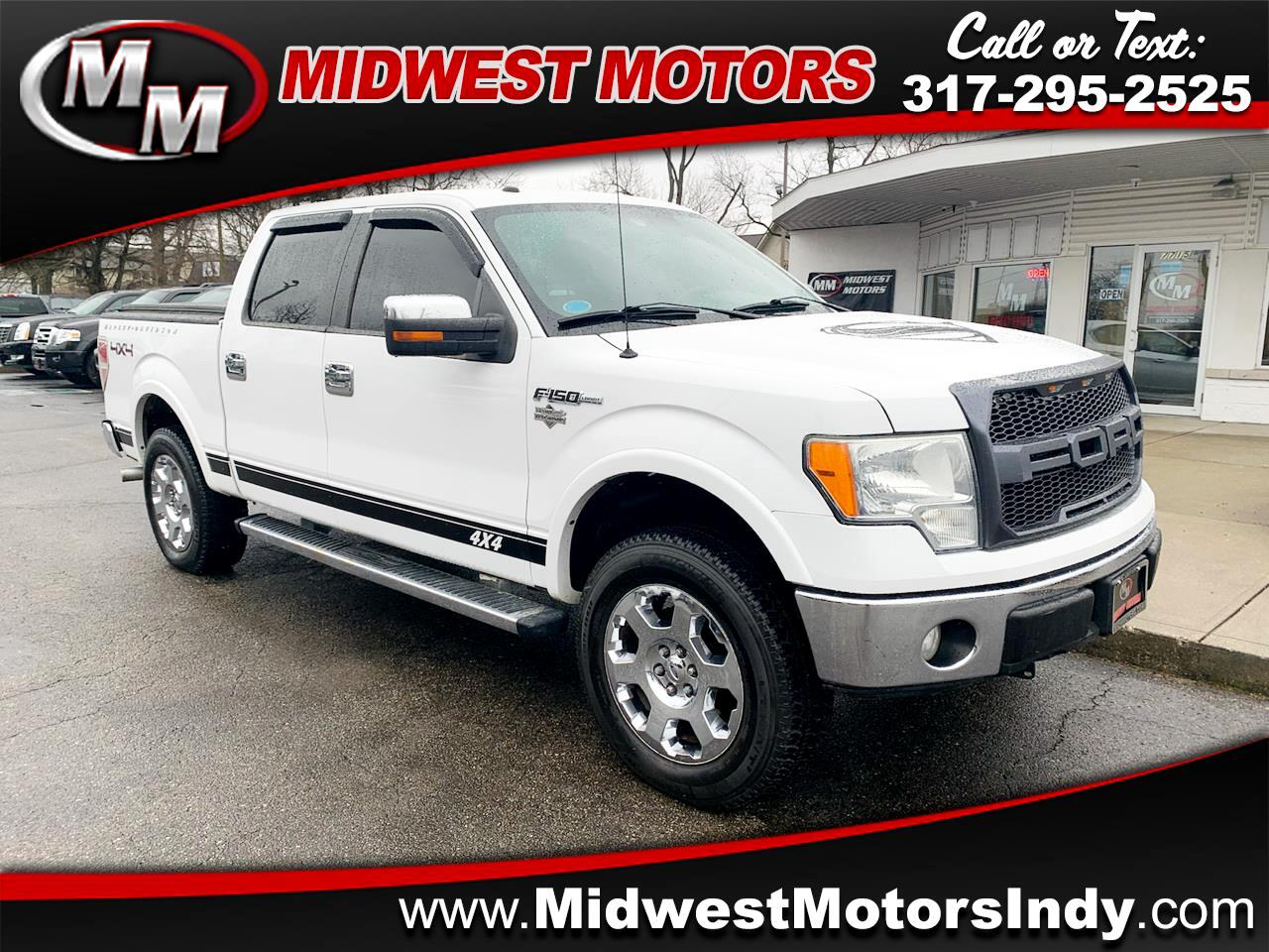 Ford F-150 Lariat SuperCrew 6.5-ft Box 4WD 2010