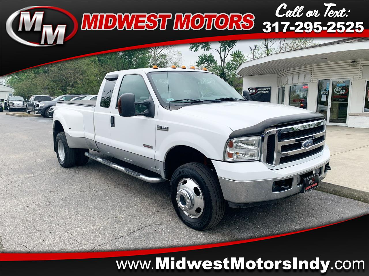 Ford F-350 SD Lariat SuperCab Long Bed DRW 4WD 2007