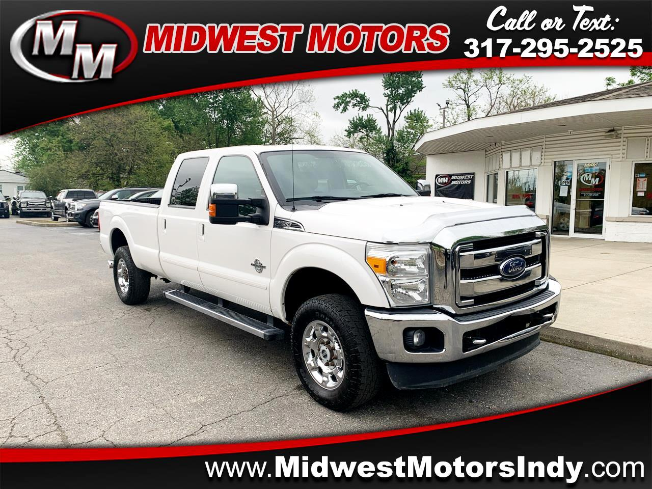 Ford F-350 SD Lariat Crew Cab Long Bed 4WD 2015