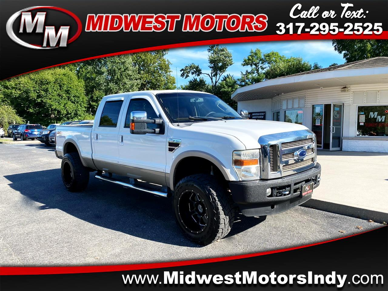 Used 2008 Ford Super Duty F 250 Srw 4wd Crew Cab 156 King Ranch For Sale In Indianapolis In 46214 Midwest Motors