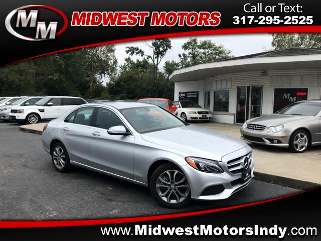2015 Mercedes-Benz C-Class C300 4MATIC Sport Sedan