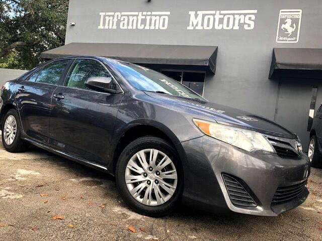 2013 Toyota Camry 4dr Sdn I4 Man LE (Natl)