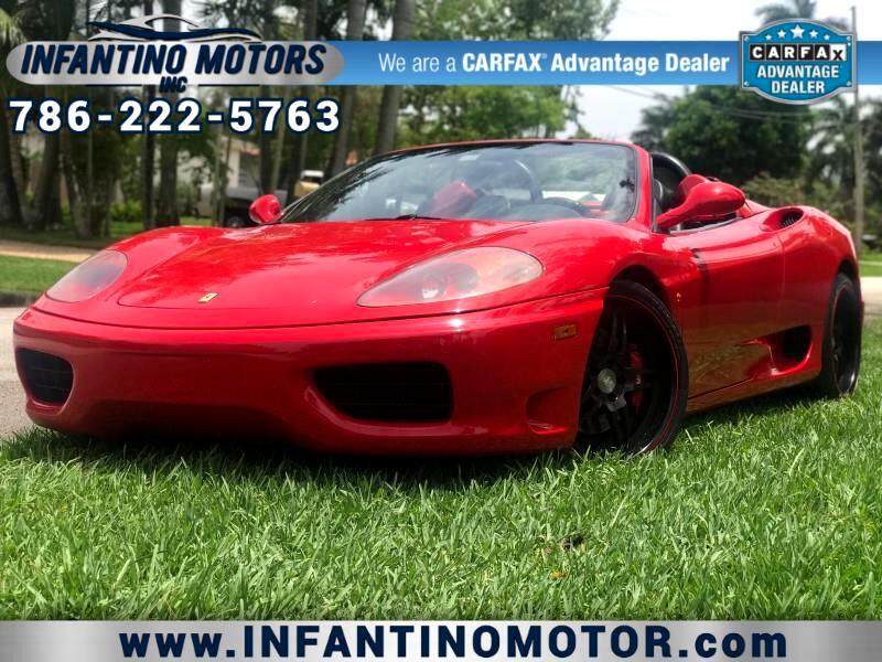 Ferrari 360 Modena Spider 2005
