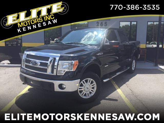 "2012 Ford F-150 SuperCrew 139"" Lariat 4WD"