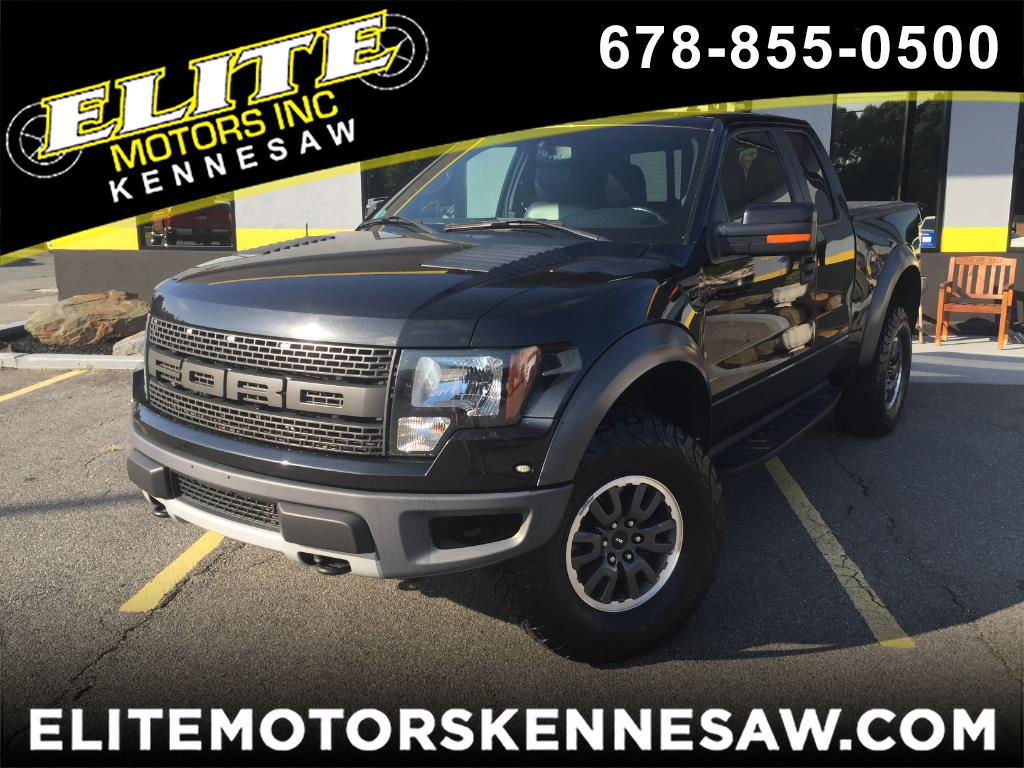 2010 Ford F-150 SVT RAPTOR SUPER CAB 4WD 6.5FT BED