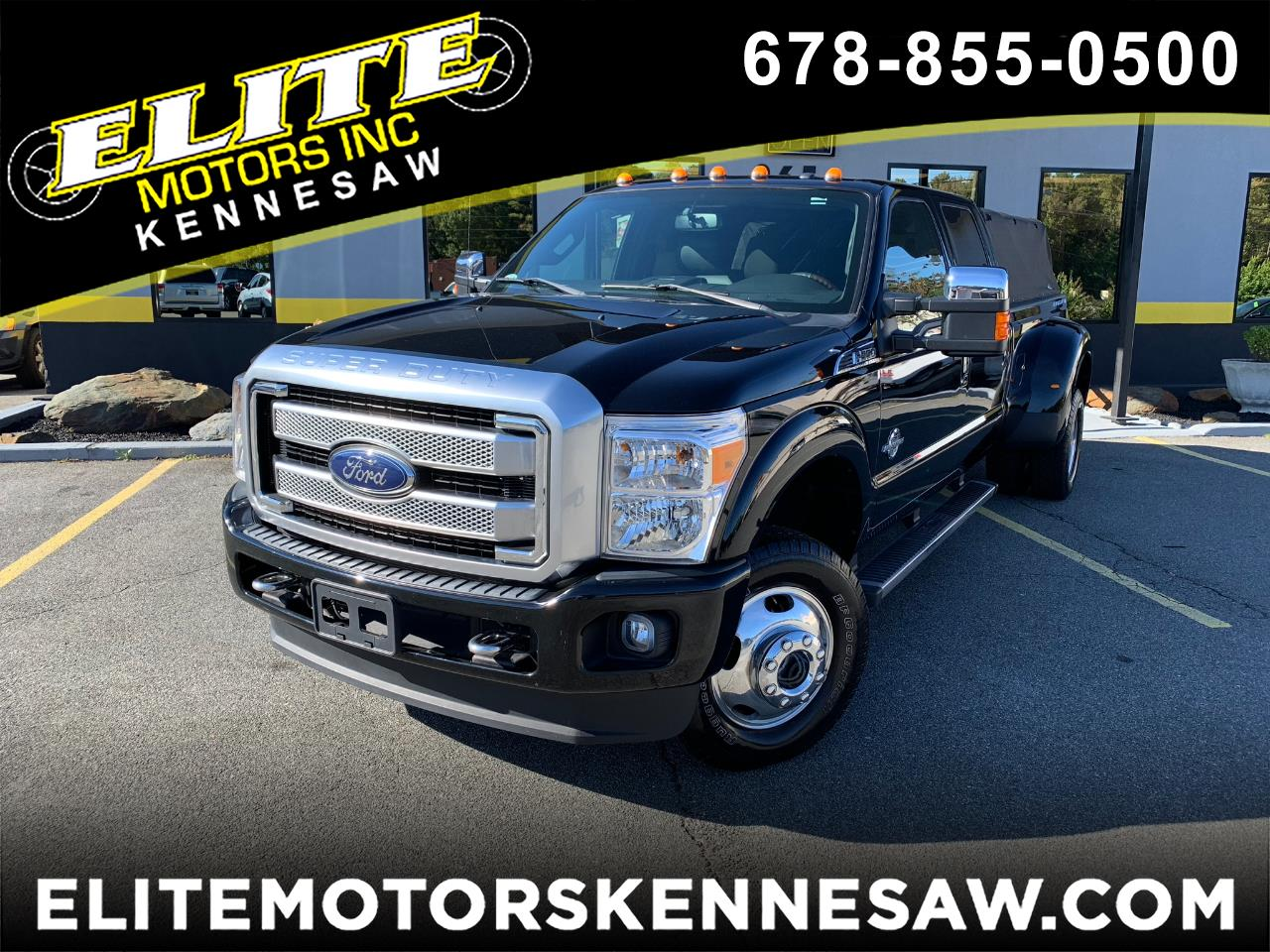 2016 Ford F-350 SD Platinum