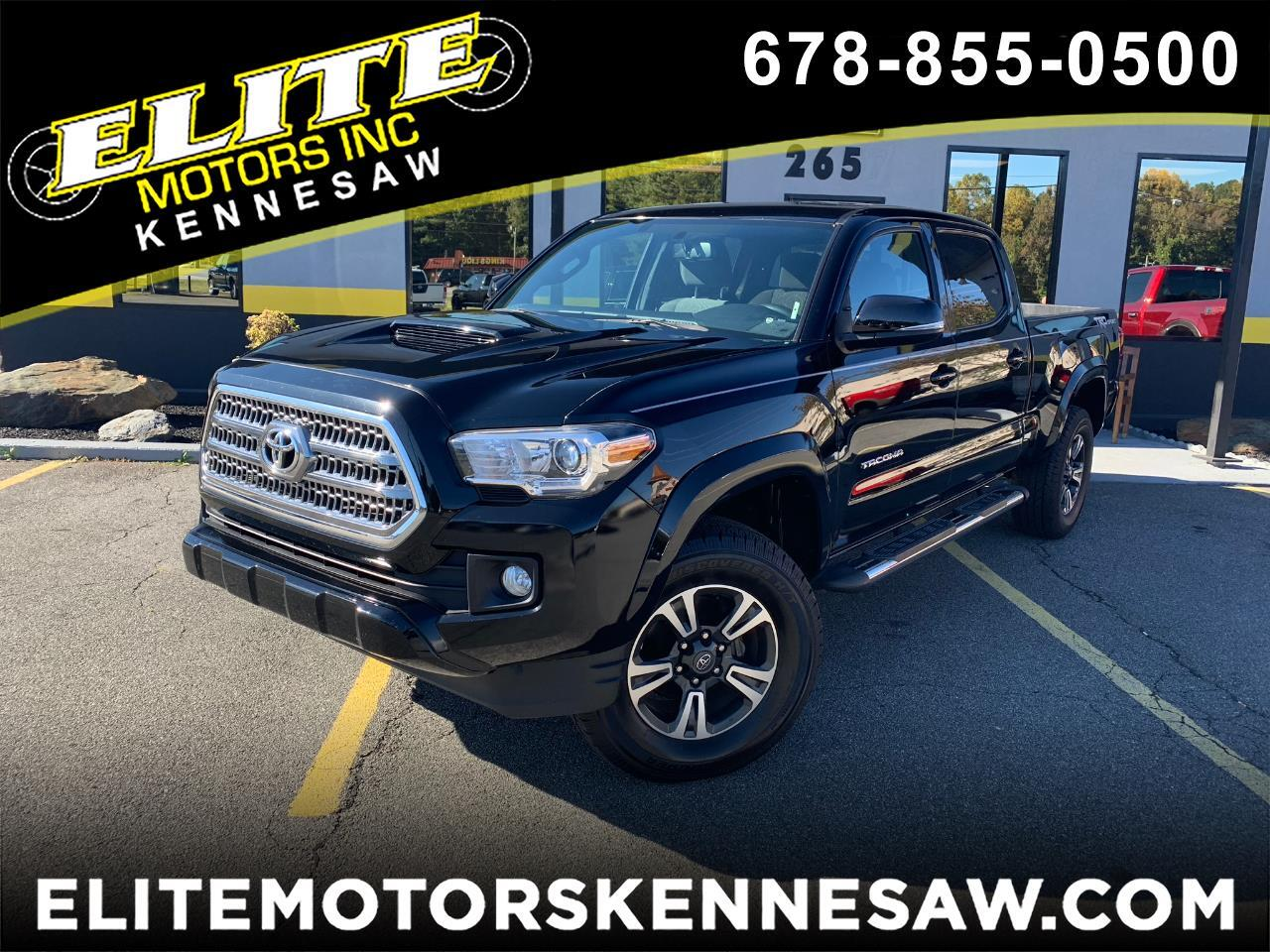 2016 Toyota Tacoma SR5 Double Cab Super Long Bed V6 5AT 2WD