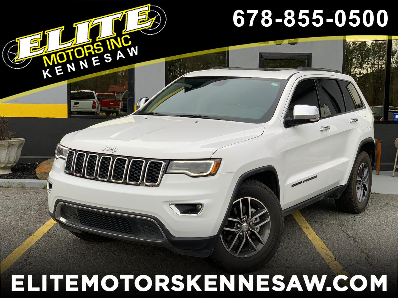 2018 Jeep Grand Cherokee Limited 2WD