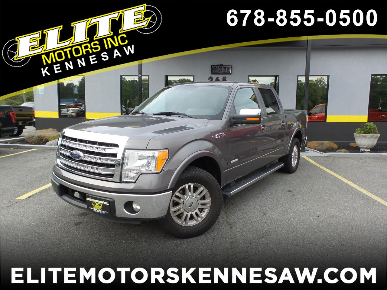 2013 Ford F-150 Lariat 2WD SuperCrew 5.5' Box
