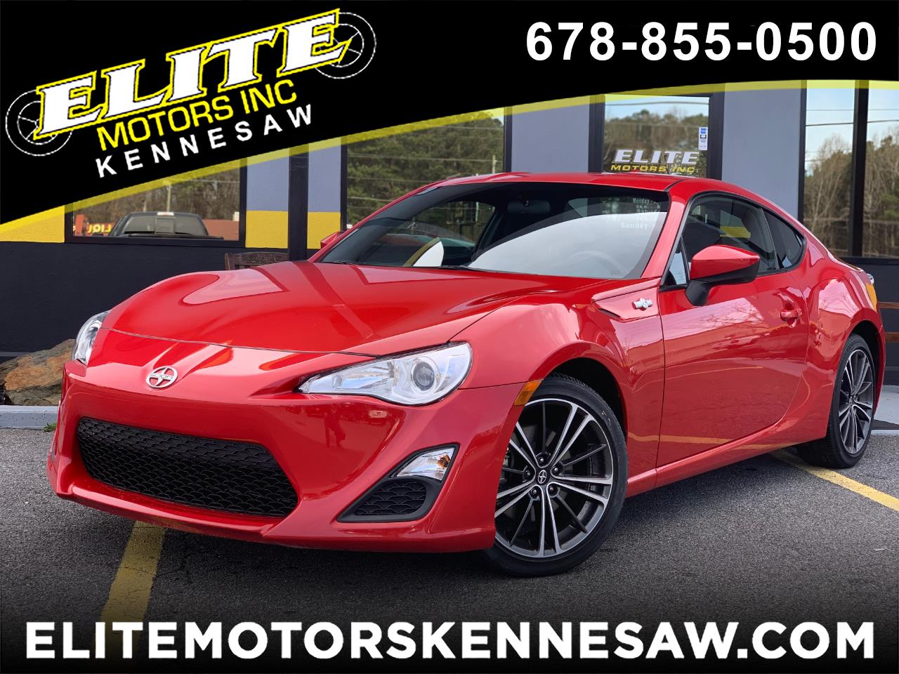 2016 Scion FR-S 6MT