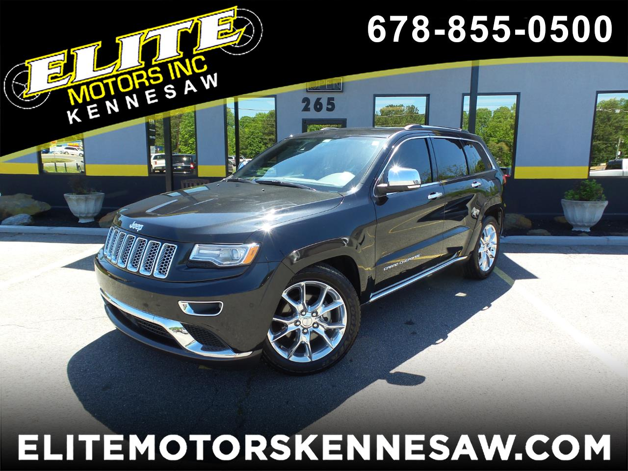 2014 Jeep Grand Cherokee Summit 4WD