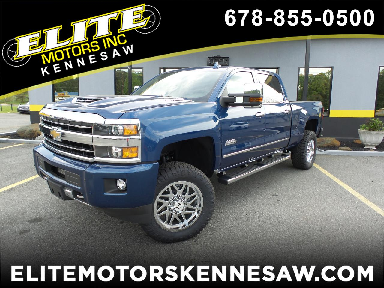 2019 Chevrolet Silverado 3500HD High Country Crew Cab 4WD