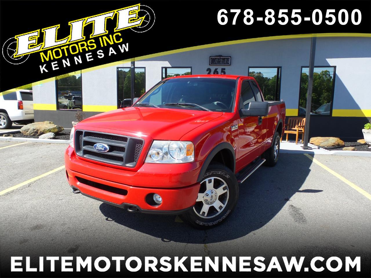 2008 Ford F-150 XLT 4WD FX4