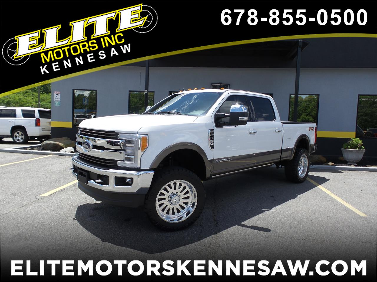 2019 Ford F-350 SD King Ranch Crew Cab 4WD