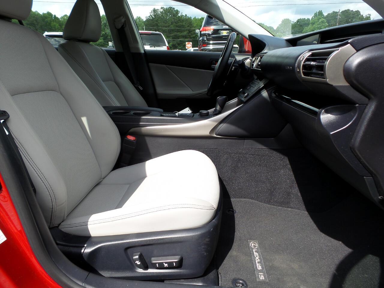 2015 Lexus IS 250 RWD